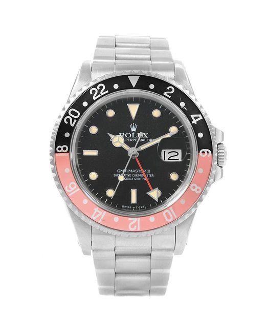 Rolex - Black Stainless Steel Gmt Master Ii Vintage Men's Wristwatch 40mm for Men - Lyst