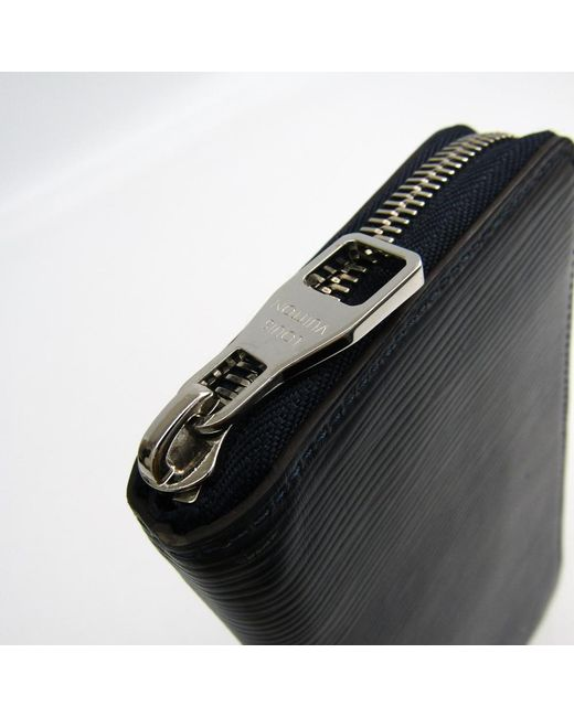 ee0d86f2dfad ... Louis Vuitton - Blue Indigo Epi Leather Vertical Zippy Wallet for Men -  Lyst ...