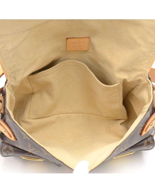 084977ad76 ... Louis Vuitton - Brown Monogram Canvas Hudson Pm Bag - Lyst ...