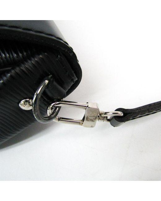 668000935559 ... Louis Vuitton - Black Noir Epi Leather Montaigne Clutch Bag - Lyst ...