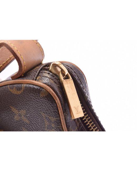 2070909a4937 ... Louis Vuitton - Brown Monogram Canvas Croissant Pm Bag - Lyst ...
