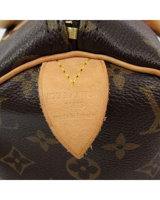 ae84396a1fe3 ... Louis Vuitton - Brown Monogram Canvas Speedy 30 Bag - Lyst ...