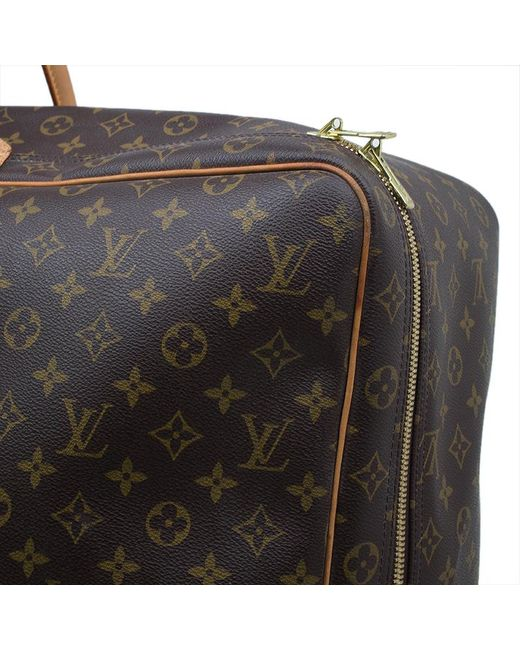 6c10001df92f ... Louis Vuitton - Brown Monogram Canvas Sirius 70 Soft Sided Suitcase for  Men - Lyst ...