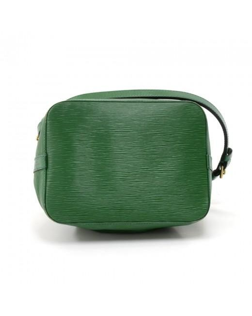 bd1e49d37ed7 Lyst - Louis Vuitton Borneo Green Epi Leather Petit Noe Bag in Green ...