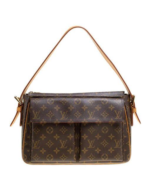 Louis Vuitton - Brown Monogram Canvas Viva Cite Gm Bag - Lyst
