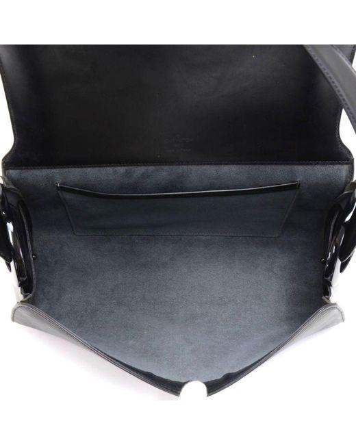 fe9075c8c12d9 ... Louis Vuitton - Black Noir Epi Leather Nocturne Gm Bag - Lyst ...