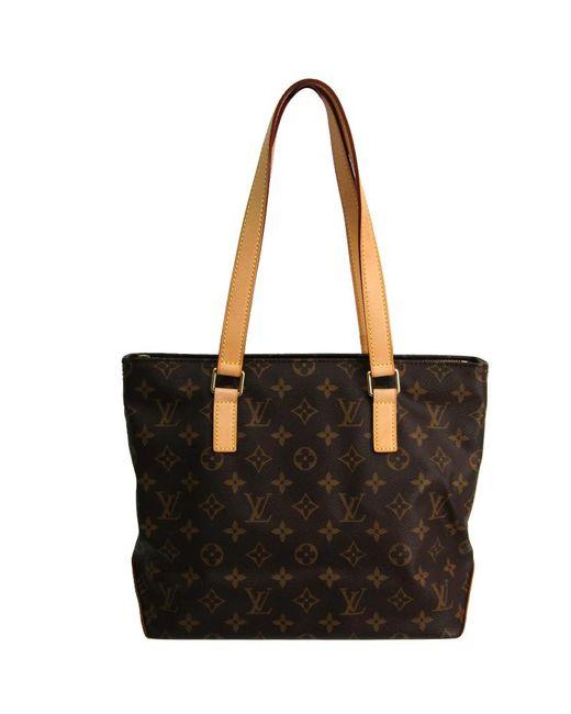2eaa3689afec Louis Vuitton - Brown Monogram Canvas Cabas Piano Bag - Lyst ...