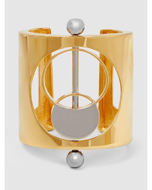 Monica Sordo | Metallic Silencio Gold And Silver-tone Cuff | Lyst