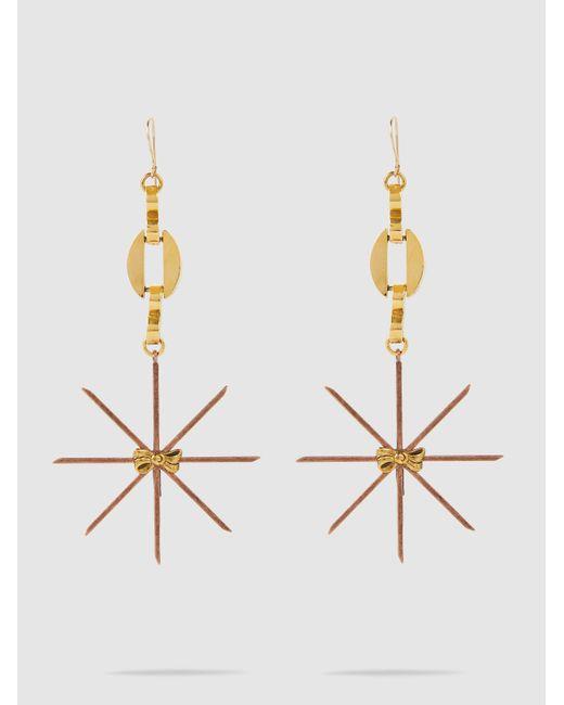 Erickson Beamon - Metallic Starstruck Earrings - Lyst