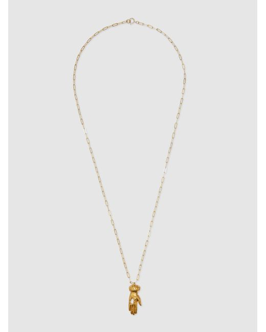 Alighieri Metallic The Curator Gold-plated Necklace