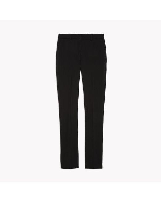 Theory | Black Stretch Wool Open Jacket | Lyst