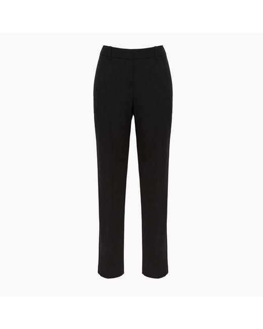 Theory - Black Stretch Wool Open Jacket - Lyst