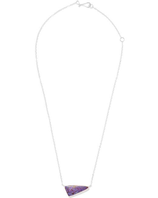 Melissa Joy Manning | Metallic 14-karat Rose Gold, Sterling Silver And Stone Necklace | Lyst