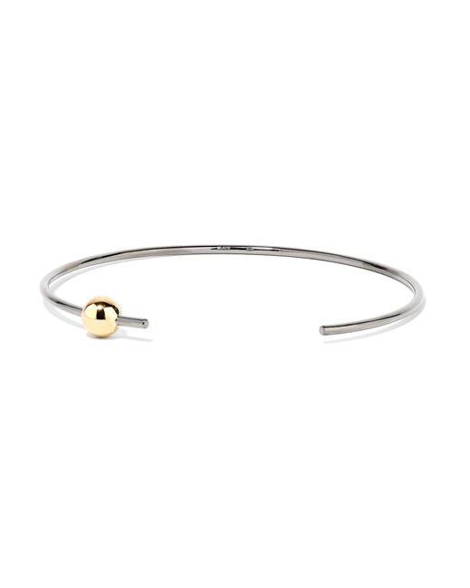 Maria Black | Metallic Orion Gold And Rhodium-plated Choker | Lyst
