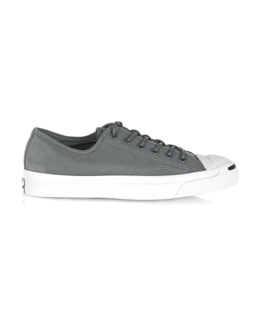 Converse | Gray Jack Purcell Canvas Sneakers | Lyst