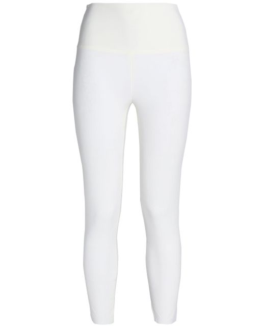 Norma Kamali - White Stretch Leggings - Lyst