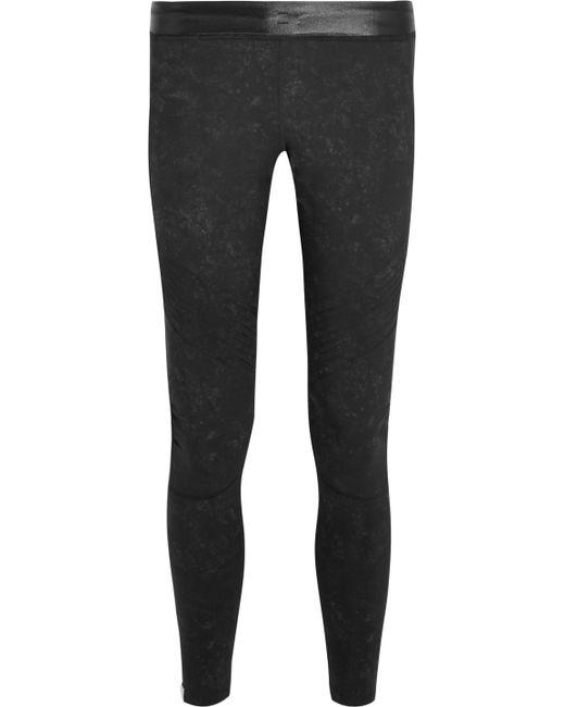 Monreal London - Black Biker Stretch-jersey Leggings - Lyst