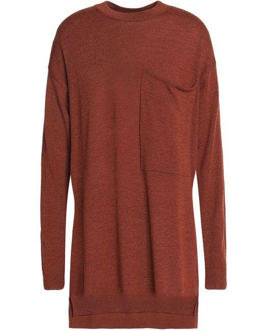 Joseph - Multicolor Mélange Merino Wool Sweater Brick - Lyst