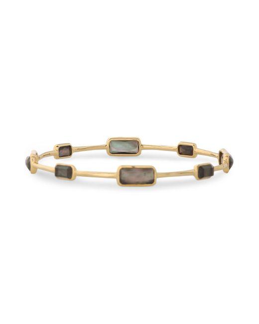 Ippolita - Metallic Gold-tone Multi-stone Bangle - Lyst