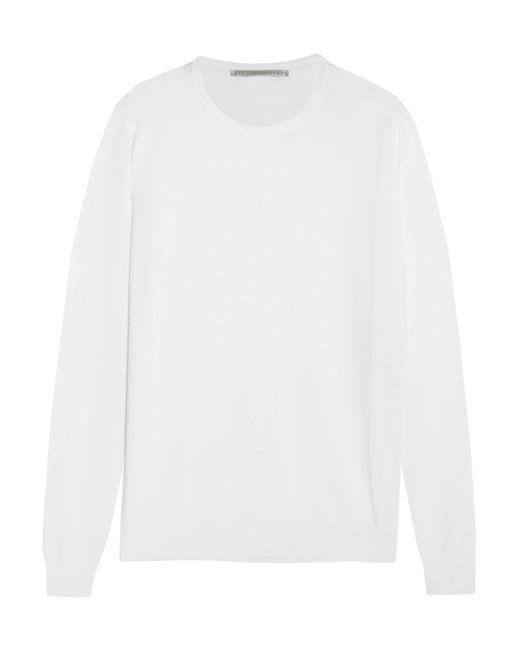 Stella McCartney - White Wool Sweater - Lyst