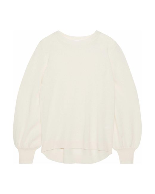 Iris & Ink - Multicolor Misty Gathered Cashmere Sweater - Lyst