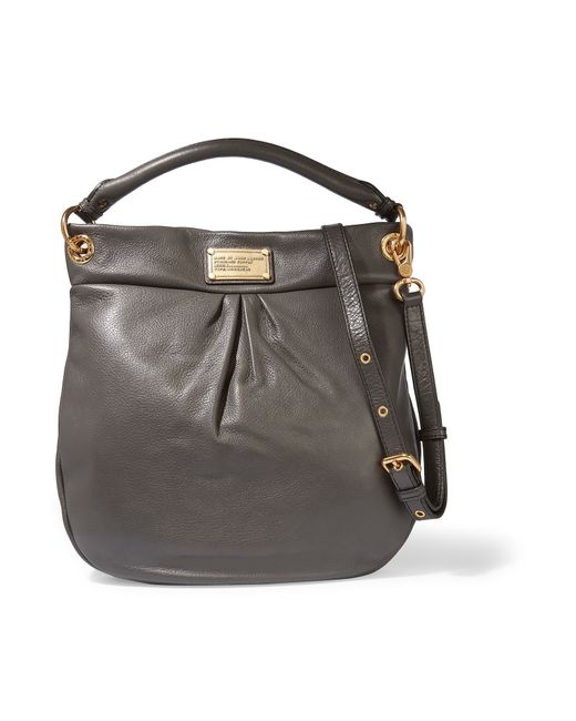 Hillier Hobo Leather Shoulder Bag 7