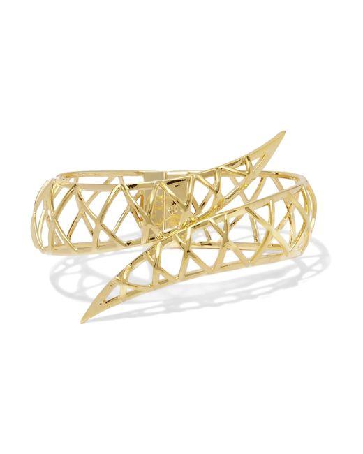 Noir Jewelry | Metallic Gold-tone Bracelet | Lyst