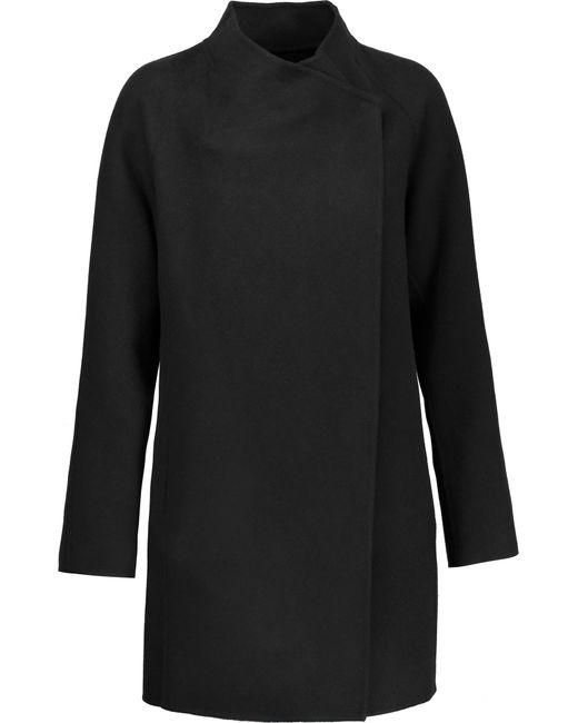 Vince | Black Wool-blend Coat | Lyst