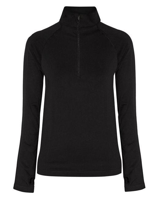 Yummie By Heather Thomson | Black Paneled Stretch-jersey Jacket | Lyst