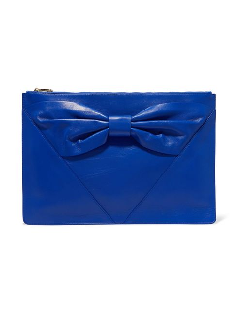 RED Valentino | Clutch Bags Royal Blue | Lyst