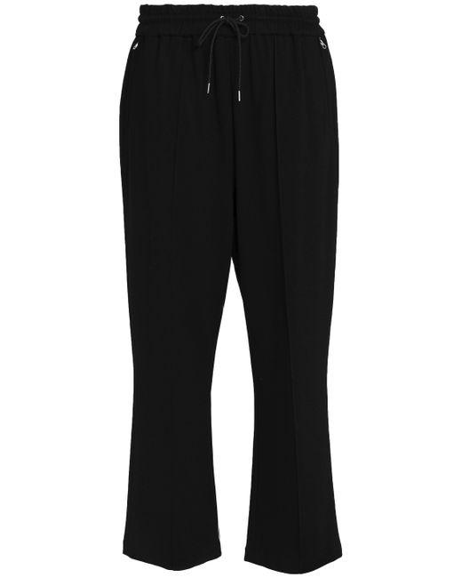 McQ Alexander McQueen - Black Stretch-jersey Straight-leg Pants - Lyst
