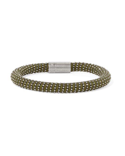 Carolina Bucci | Multicolor Silver-tone Woven Bracelet | Lyst