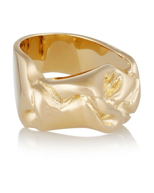 Jennifer Fisher | Metallic Bow Silver-plated Ring | Lyst
