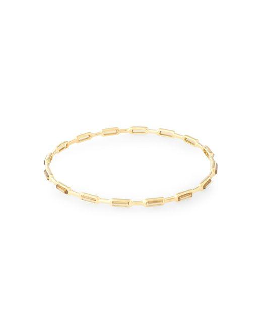 Ippolita - Metallic Gold-tone Stone Bangle - Lyst