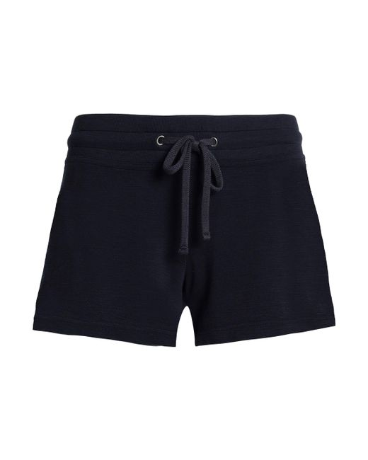 James Perse - Blue Cotton-terry Shorts - Lyst