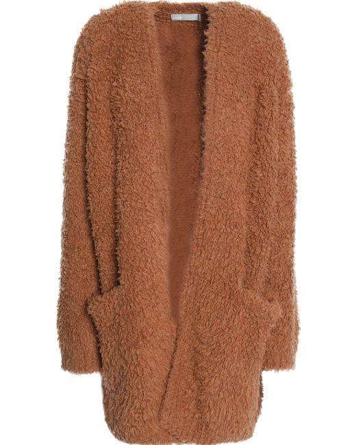 Vince - Multicolor Wool And Cashmere-blend Bouclé Cardigan - Lyst