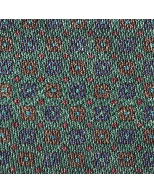 Vert Motif Cravate Rubinacci Patinée OOMp3A