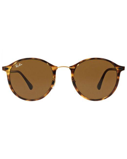 da846ff605f Ray-Ban - Rb4242-710 73 Tortoiseshell Frames With Brown Lenses Sunglasses  for ...