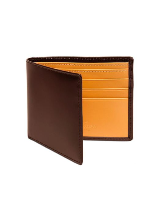 Ettinger - Havana Brown And London Tan Billfold Wallet for Men - Lyst