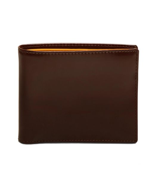 Ettinger - Brown Nut And London Tan Billfold Wallet With 6 C/c, Bridle Hide Collection for Men - Lyst