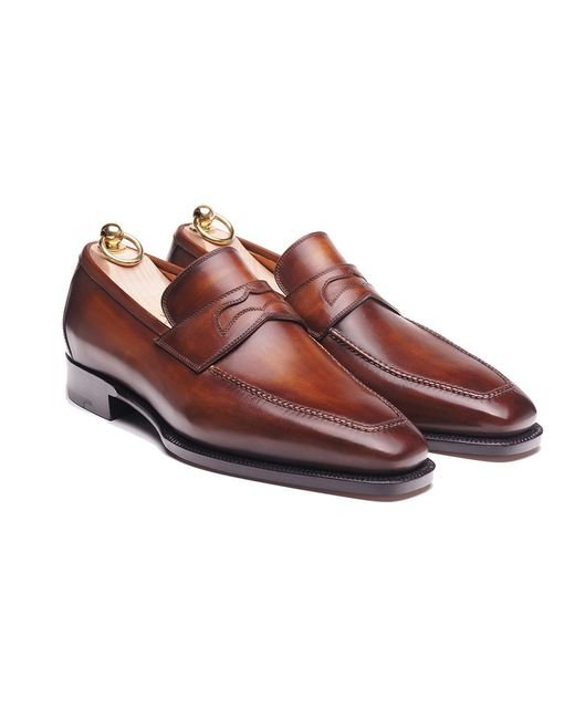 Stefano Bemer - Red Museum Loafers 1340 for Men - Lyst