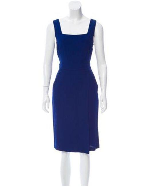 A.L.C. - Blue Spencer Midi Dress W/ Tags - Lyst