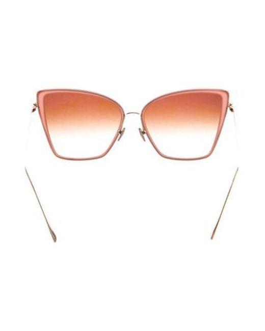 4fdb57ce3d8 ... Dita - Pink Unbird Cat-eye Sunglasses - Lyst ...