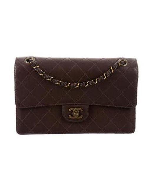 abb0385cb4cb Chanel - Metallic Vintage Classic Medium Single Flap Bag Gold - Lyst ...
