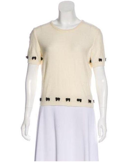 ... John Galliano - Black Wool-blend Cardigan Set - Lyst 43dc9f97c