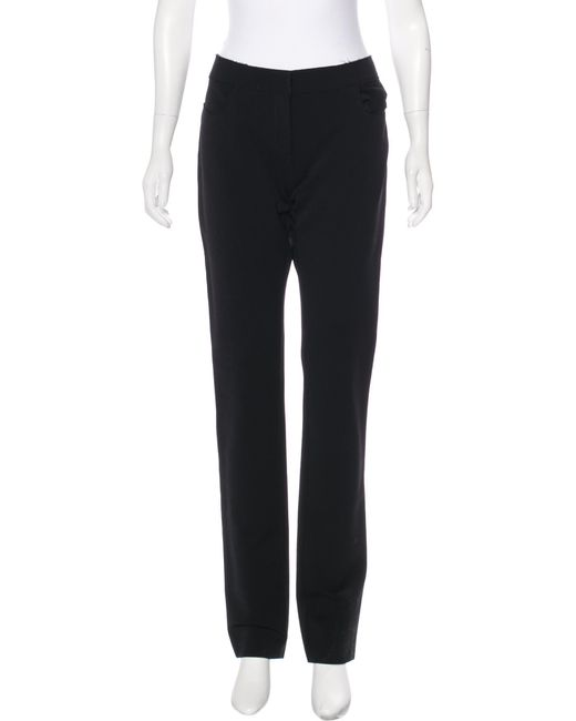 Best Seller Outlet Affordable Lanvin Mid-Rise Straight-Leg Pants Many Styles GBhWMDMvQQ