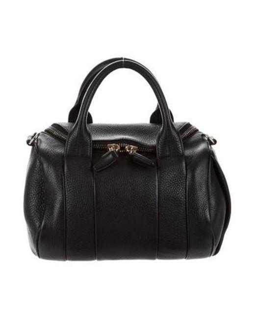 20a547f5254b Alexander Wang - Metallic Rockie Duffel Bag Black - Lyst ...