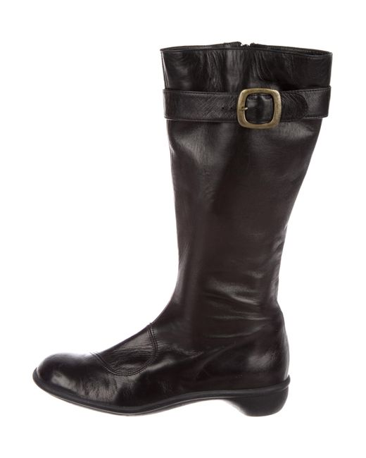 clearance geniue stockist Robert Clergerie Clergerie Paris Square-Toe Knee-High Boots newest online clearance popular discount low cost Nitrow
