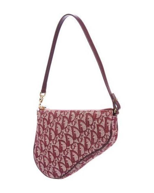 5967bbb562f ... Dior - Metallic Diorissimo Mini Saddle Bag Gold - Lyst ...