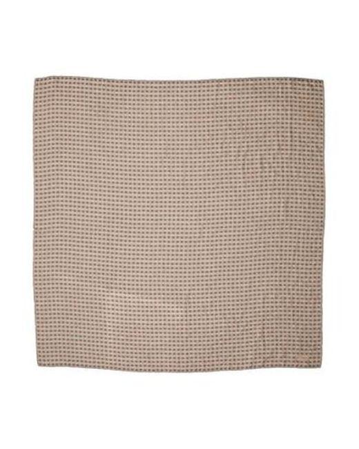 Bottega Veneta - Natural Butterfly Knit Scarf Beige - Lyst